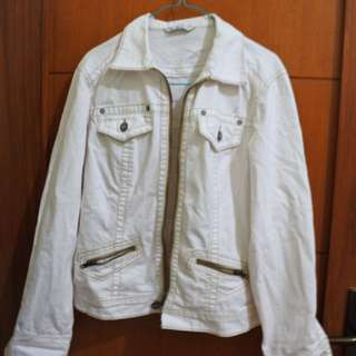 Jacket jeans white