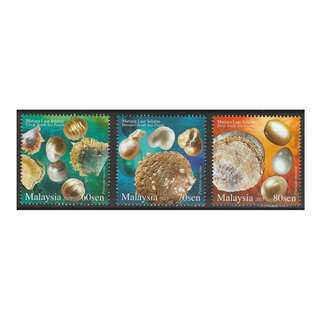 2015 Pearls Malaysia set of 3V Mint MNH SG #2093-2095