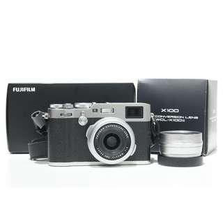 Fujifilm X100F (Silver Edition) 99.99%