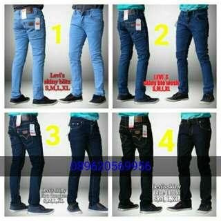 Celana jeans dennim/jeans skinny levis523