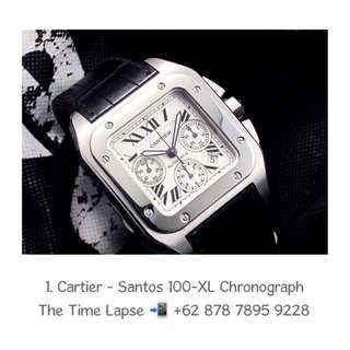 Cartier - Santos 100-XL Chronograph