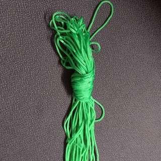 綠色顏色繩