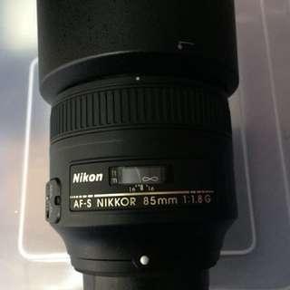 AF-S NIKKOR 85mm 1:1.8 G