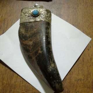 Antique Antique Gold Elephant Pendant,  Jewelry Charm  