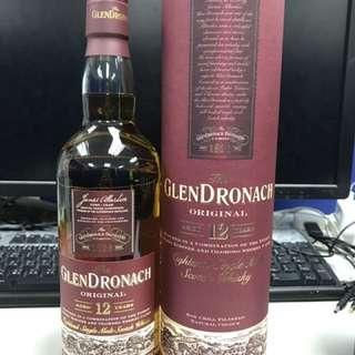 格蘭多納12年雪梨桶 Glendronach 12 sherry oak 行貨