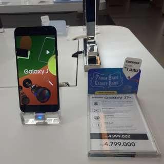 Dengan Dp 800 rb dapatkan Samsung Galaxy J7+ dengan cicilan tanpa kartu kredit 30 menit