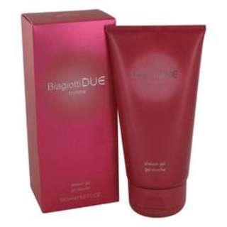 Due Perfume By LAURA BIAGIOTTI FOR WOMEN 5 oz Shower Gel