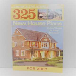 Architectural book: 325 House Plans