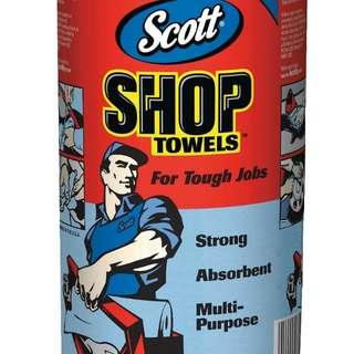 Scott Shop Towel強韌萬用紙抹布