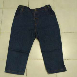 Celana panjang jeans soft