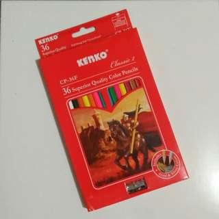 Pensil warna Kenko 36 warna