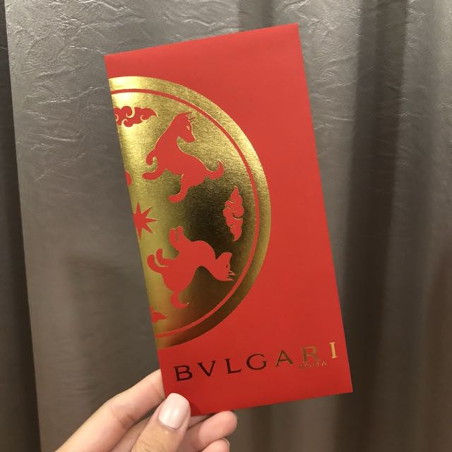 2018 Bvlgari Red Packet Ang Pao Everything Else On Carousell