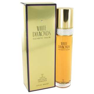 White Diamonds Perfume By ELIZABETH TAYLOR FOR WOMEN 3.3 oz Eau De Toilette Spray