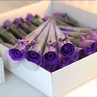 Valentine fashion soap Rose Flower