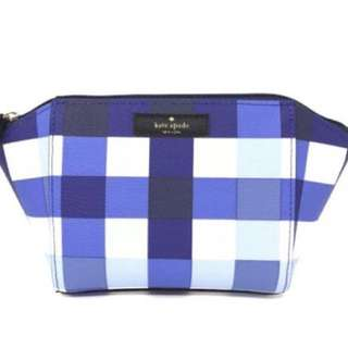 Kate Spade small eady grove street printed cosmetic pouch