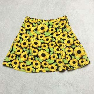 H&M Divided Sunflower Skirt