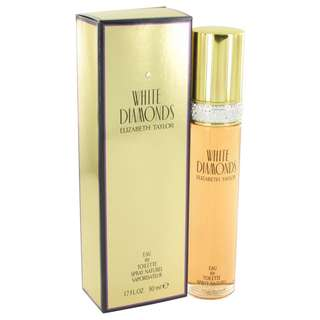 White Diamonds Perfume By ELIZABETH TAYLOR FOR WOMEN 1.7 oz Eau De Toilette Spray