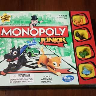 TIP TOP condition : Monopoly Junior