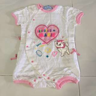 Baby roamper clothes Aristocat 6 month old