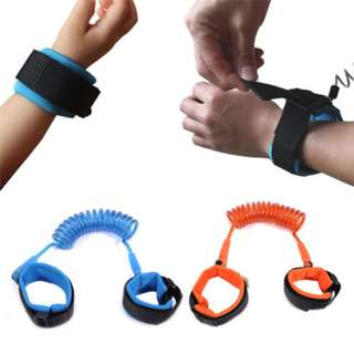 1.5M Adjustable Kids Safety Anti lost Wrist Band Toddler Harness Leash Strap
