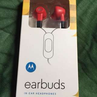 Motorola Earbuds In-ear Headphones (1 piece only)
