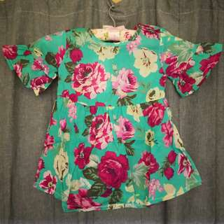 Flower Girl Blouse
