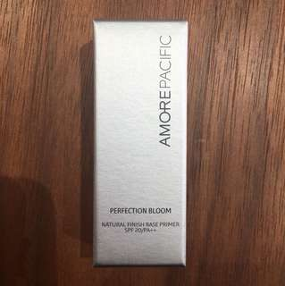 AMOREPACIFIC PERFECTION BLOOM Natural Finish Base Primer Tester 柔亮底霜 隔離霜 試用裝 旅行裝