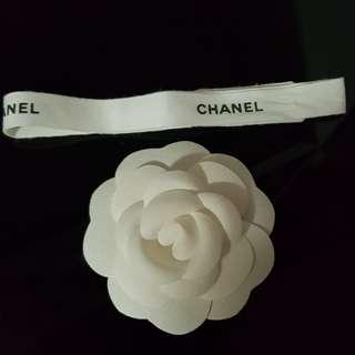 Chanel flower & Ribbon