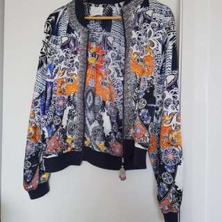 Camilla bomber jacket
