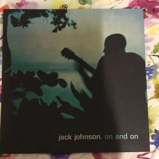 Jack Johnson On and On Lp vinyl