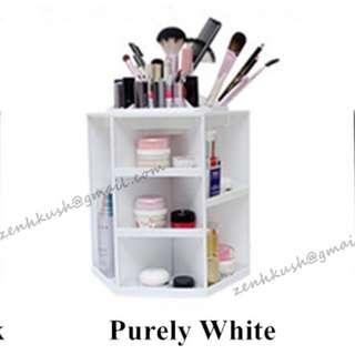Free Shipping❤3rd Generation Korean-Style 360 Degree Rotating Cosmetic Organizer❤Make Up Organizer❤Cosmetics Rack