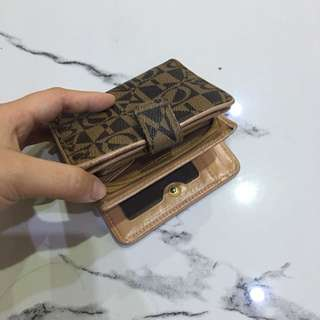 Bonia pocket wallet