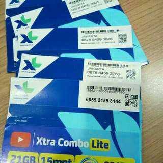 PROMO Paket Hemat 12 Bulan XL Combo Xtra M 6GB.