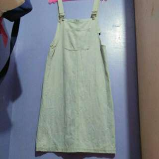 Denim dress / cardigan