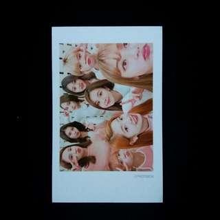 Twice Mwave Photocard