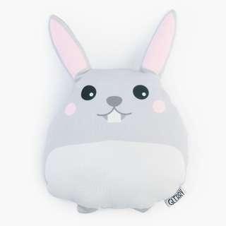 Fluffu Bunny Plushie - Boneka - Diameter 30 cm