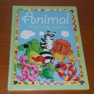 Animal Bedtime Tales Book