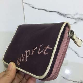 ESPRIT purple old school wallet