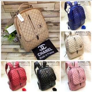 Tas Ransel Chanel Import Backpack