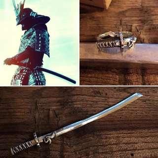 (預訂)武士刀戒指