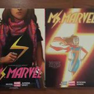 Ms Marvel Deluxe Hardcover 1&2