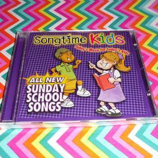 Charity Sale! All New Sunday School Songs CD
