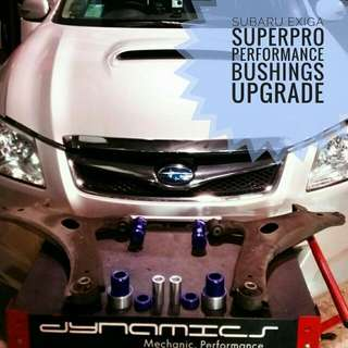 Subaru Exiga : SuperPro Front_Lower_Control_Arms Performance_Bushings  Upgrade