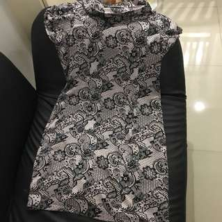 Simple Match Printed Dress