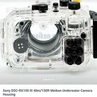 Meikon Sony RX 100 Mark iii 防水殼
