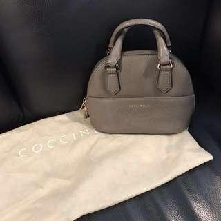 COCCINELLE saffiano mini bag