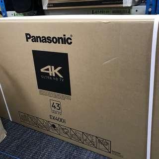 BRAND NEW PANASONIC ULTRA HD 4K LED SMART TV