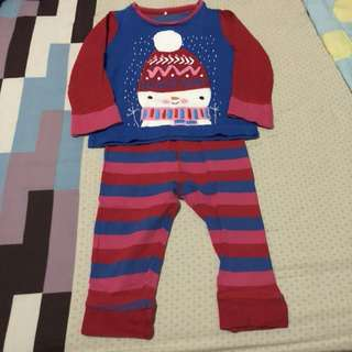 2 part set Mothercare sleepwear