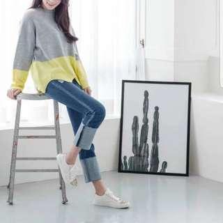 韓國春季新款 鞋子 兩色