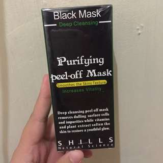 purifying peel-off mask